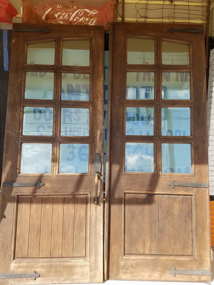 Old Antique U0026 Vintage Front Entry Stained Glass Or Wood Doors!