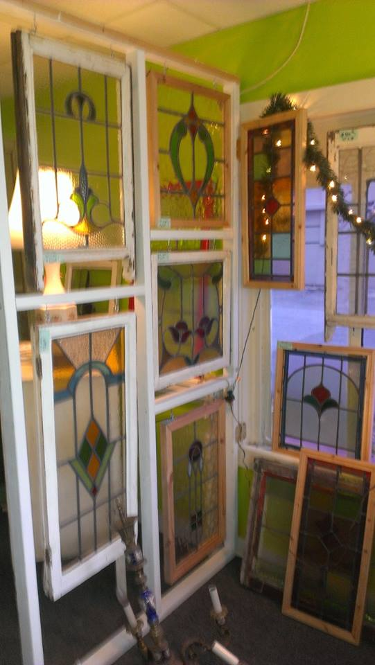 Grand selection of over 300 plus unique pieces of old vintage antique  stained glass leaded windows from England. - Old Is Better Than New - Home