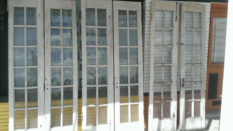 Antique Architectural Old Wood Glass Doors From Texas Stock Daily