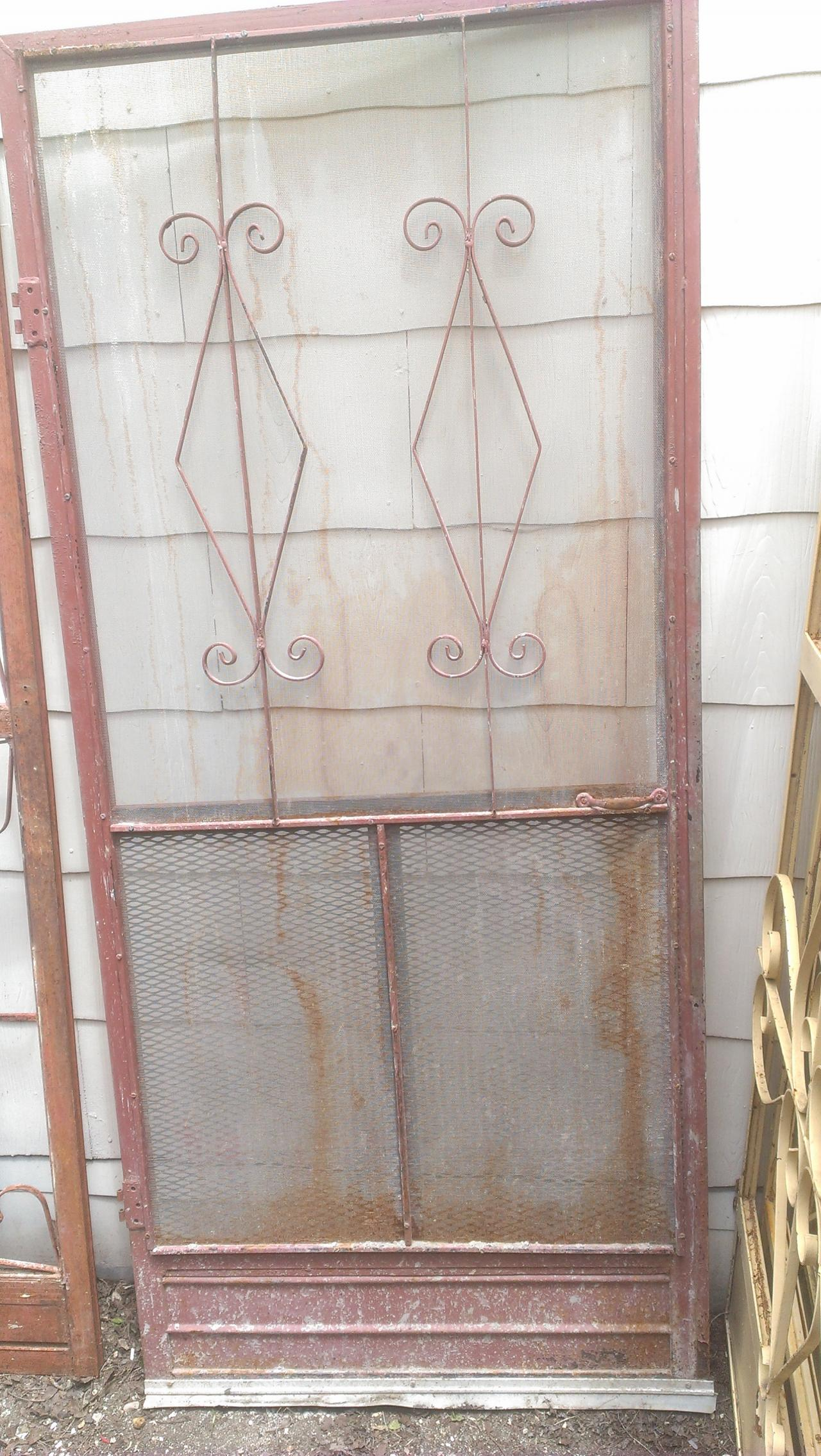 Old Is Better Than New Antique Vintage Old Texas Wood Or Metal Screen Doors